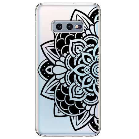 Etui na Samsung Galaxy S10e - Kwiatowa mandala.