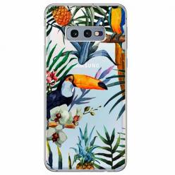 Etui na Samsung Galaxy S10e - Egzotyczne tukany.