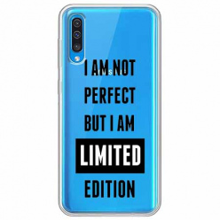 Etui na Samsung Galaxy A50 - I Am not perfect…