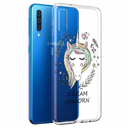 Etui na Samsung Galaxy A50 - Dream unicorn - Jednorożec.