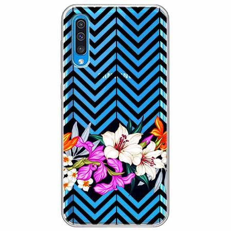 Etui na Samsung Galaxy A50 - Kwiatowy bukiet dla Ciebie.