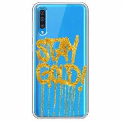 Etui na Samsung Galaxy A50 - Stay Gold.