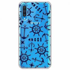 Etui na Samsung Galaxy A50 - Ahoj wilki morskie.