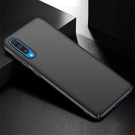 Etui na telefon Samsung Galaxy A50 - Slim MattE - Czarny.