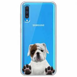 Etui na Samsung Galaxy A70 - Słodki szczeniaczek.
