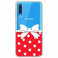 Etui na Samsung Galaxy A70 - Gustowna kokardka.