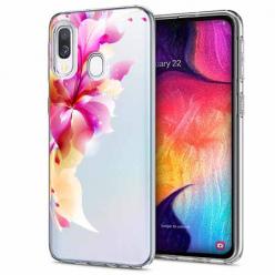 Etui na Samsung Galaxy A40 - Bajeczny kwiat.