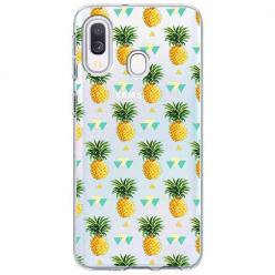 Etui na Samsung Galaxy A40 - Ananasowe szaleństwo.