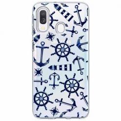 Etui na Samsung Galaxy A40 - Ahoj wilki morskie.