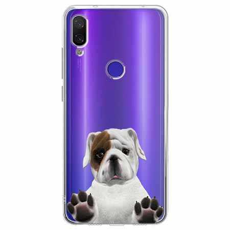 Etui na Xiaomi Redmi Note 7 - Słodki szczeniaczek.