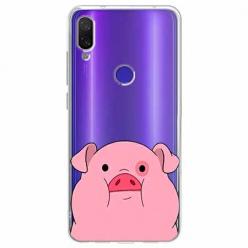 Etui na Xiaomi Redmi Note 7 - Słodka różowa świnka.
