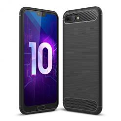 Etui na Huawei Honor 10 - bumper Neo CARBON - Czarny.