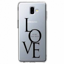 Etui na Galaxy J6 Plus - All you need is LOVE.