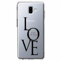 Etui na Galaxy J6 Plus - All you need is LOVE.