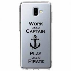 Etui na Galaxy J6 Plus - Work like a Captain…