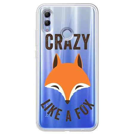 Etui na Huawei Honor 10 Lite - Crazy like a fox.