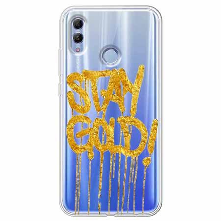 Etui na Huawei Honor 10 Lite - Stay Gold.