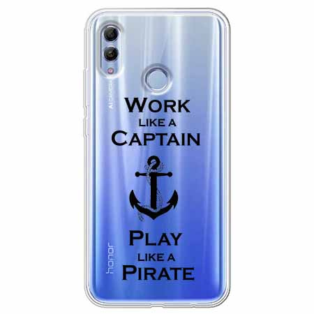 Etui na Huawei Honor 10 Lite - Work like a Captain…