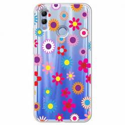 Etui na Huawei Honor 10 Lite - Kolorowe stokrotki.