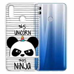 Etui na Huawei Honor 10 Lite - Ninja Unicorn - Jednorożec.