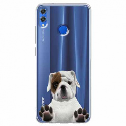 Etui na Huawei Honor 8X - Słodki szczeniaczek.