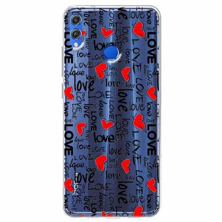 Etui na Huawei Honor 8X - Love, love, love…
