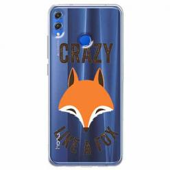 Etui na Huawei Honor 8X - Crazy like a fox.