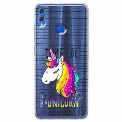 Etui na Huawei Honor 8X - Time to be...Jednorożec.
