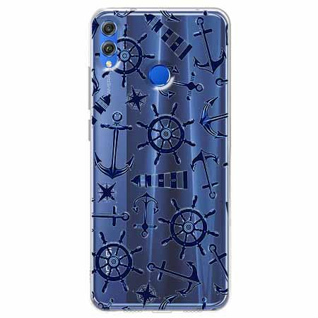 Etui na Huawei Honor 8X - Ahoj wilki morskie.