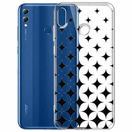 Etui na Huawei Honor 8X - Diamentowy gradient.