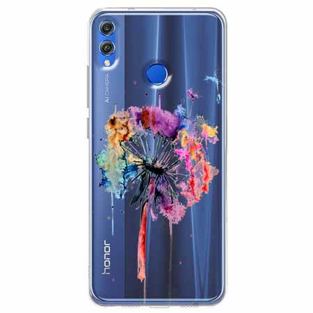 Etui na Huawei Honor 8X -  Watercolor dmuchawiec.