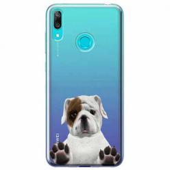 Etui na Huawei P Smart 2019 - Słodki szczeniaczek.