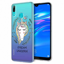 Etui na Huawei P Smart 2019 - Dream unicorn - Jednorożec.