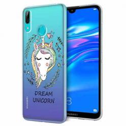 Etui na Huawei P Smart 2019 - Dream unicorn - Jednorożec.