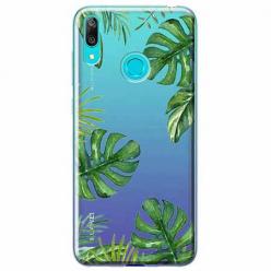 Etui na Huawei P Smart 2019 - Zielone liście palmowca