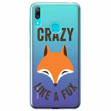 Etui na Huawei P Smart 2019 - Crazy like a fox.