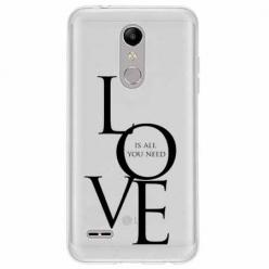 Etui na LG K11 - All you need is LOVE.