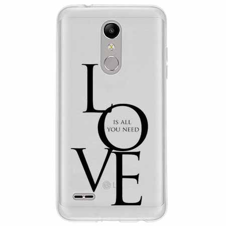 Etui na LG K11 - All you need is LOVE.