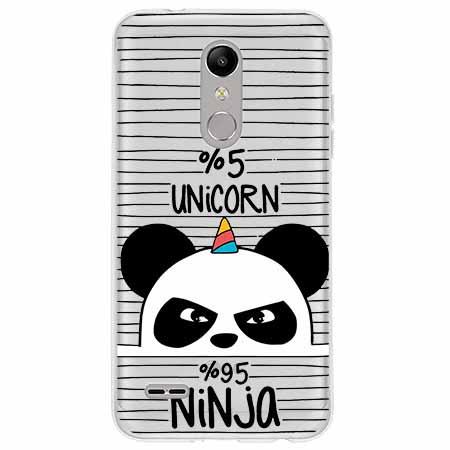 Etui na LG K11 - Ninja Unicorn - Jednorożec.