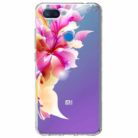 Etui na Xiaomi Mi 8 Lite - Bajeczny kwiat.