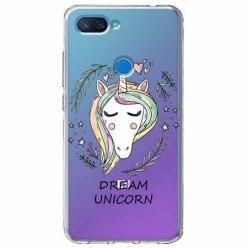 Etui na Xiaomi Mi 8 Lite - Dream unicorn - Jednorożec.