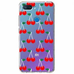Etui na Xiaomi Mi 8 Lite - Wiśniowa plejada.