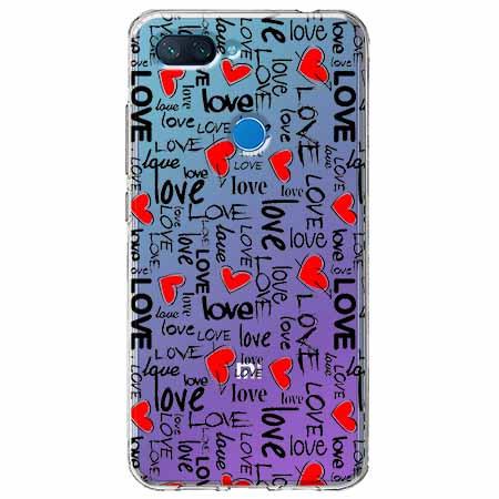 Etui na Xiaomi Mi 8 Lite - Love, love, love…