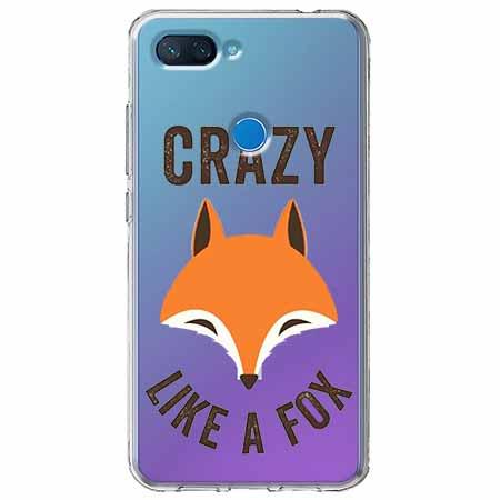 Etui na Xiaomi Mi 8 Lite - Crazy like a fox.
