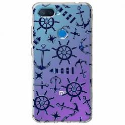 Etui na Xiaomi Mi 8 Lite - Ahoj wilki morskie.