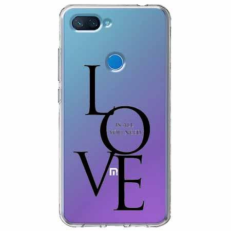 Etui na Xiaomi Mi 8 Lite - All you need is LOVE.