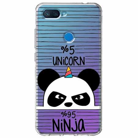 Etui na Xiaomi Mi 8 Lite - Ninja Unicorn - Jednorożec.