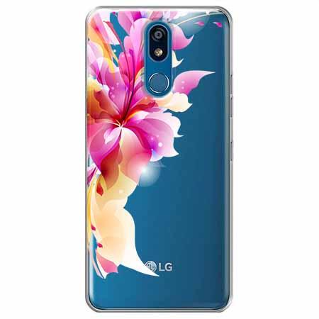 Etui na LG K40 - Bajeczny kwiat.