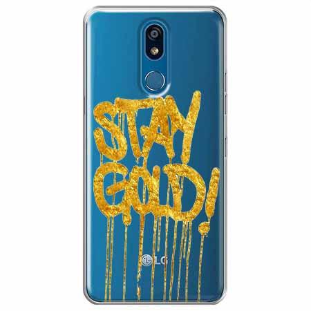 Etui na LG K40 - Stay Gold.