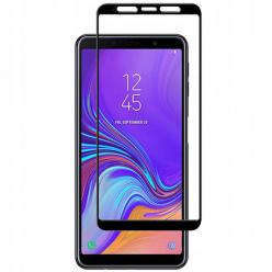 Galaxy A7 2018 hartowane szkło 5D Full Glue - Czarny